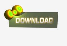 Logo banner download Royalty Free Stock Photo