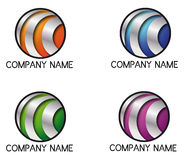 Logo tri bands Stock Photo