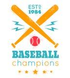 Logo for baseball Stock Photo