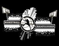 Logo basketball championship Royalty Free Stock Photos