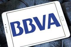 BBVA Spanish banking group logo Stock Photography
