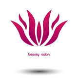 Logo beauty salon Stock Photography