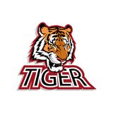 Logo of the Bengal tiger Royalty Free Stock Image