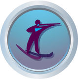 Logo of Biathlon Stock Photo