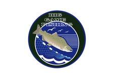 Logo Big game fishing Stock Image