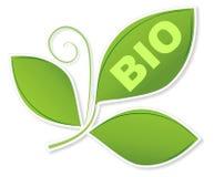 Logo bio- illustrazione di stock