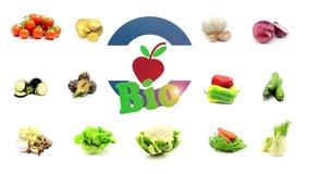 Logo biologico 3D animato archivi video