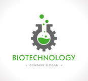 Logo - Biotechnology Royalty Free Stock Images