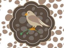 Logo Bird Fotografia Stock Libera da Diritti