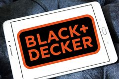 Black & Decker company logo Royalty Free Stock Photos