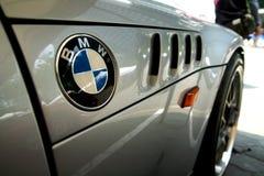 Logo of a BMW car Stock Photography