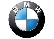 Logo BMW royalty free illustration