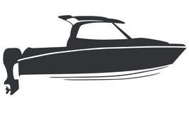 Logo boat Royalty Free Stock Photography