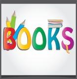 Logo books Royalty Free Stock Photo