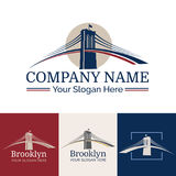 Logo Brooklyn Royaltyfri Bild
