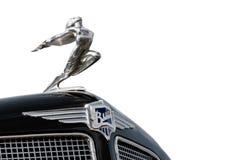 Logo of buick, emblem on retro american car Royalty Free Stock Photography