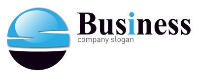 Logo business Royalty Free Stock Photos