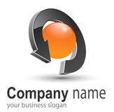 Logo business. Stock Photos