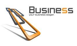Logo business. Royalty Free Stock Photo