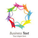 Logo business Stock Photo