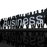 Logo Business Black And White Royalty Free Stock Photos