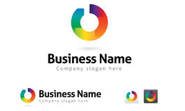 Logo For Business Branding (vector) Stock Image