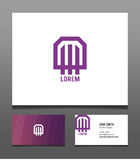 Logo with Business Card Stock Images
