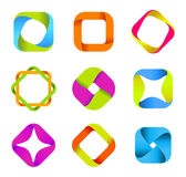 Logo business square royalty free illustration