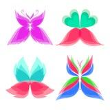 Logo Butterfly Color Imagen de archivo