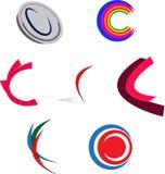 Logo C royaltyfri illustrationer