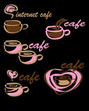 Logo cafe Stock Photos