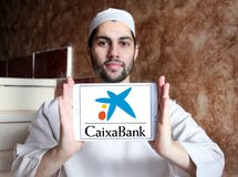 CaixaBank logo Royalty Free Stock Photography