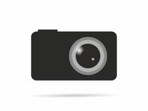 Logo camera royalty free illustration