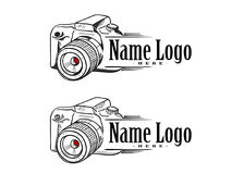 Logo Camera Simple libre illustration