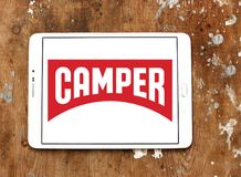 Camper fashion brand logo stock photography