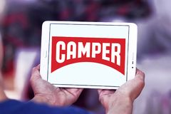 Camper fashion brand logo royalty free stock image