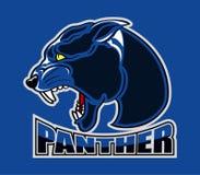 Logo capo della pantera royalty illustrazione gratis