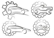 Logo car service. Stock Image