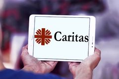 Logo Caritas Internationalis Stockbild