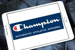 Champion sportswear company logo Stock Photos