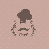 Logo chef Stock Images