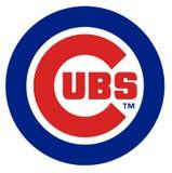 Logo for the Chicago Cubs baseball club. USA.