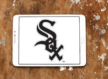 Chicago White Sox baseball team logo. Logo of Chicago White Sox team on samsung tablet. The Chicago White Sox are an American professional baseball team Stock Photo