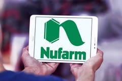 Logo chimico agricolo della società di Nufarm Immagini Stock Libere da Diritti