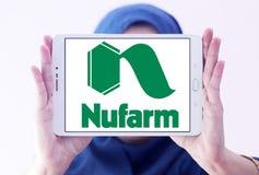 Logo chimico agricolo della società di Nufarm Immagine Stock Libera da Diritti