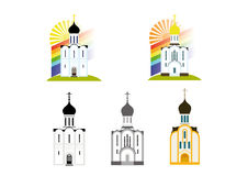 Logo with the Christian Church Stock Photos