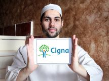 Cigna health organization logo Stock Photo