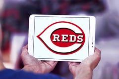 Cincinnati Reds baseball Club logo. Logo of Cincinnati Reds baseball Club on samsung tablet. The Cincinnati Reds are an American professional baseball team stock photo