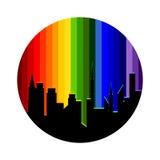 Logo city. Royalty Free Stock Image