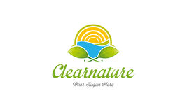 Logo clair de nature Illustration Libre de Droits